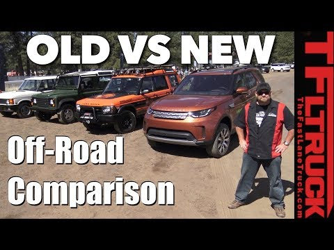 Old Vs New Off-Road: Land Rover Defender Vs Discovery 2 Vs Range Rover Classic Vs 2018 Discovery