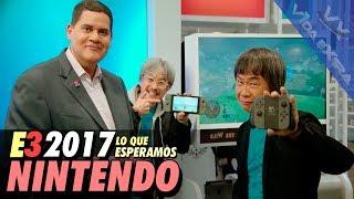 Qué podemos esperar de Nintendo en el E3 2017