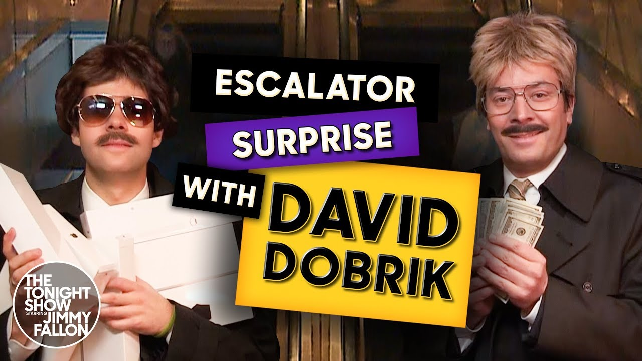 David Dobrik and Jimmy Surprising People with $100 Bills and iPads thumbnail