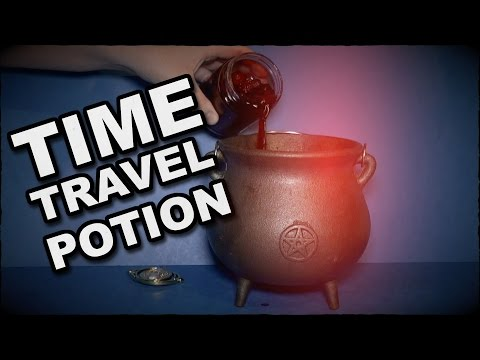 Time Travel Potion With Magic Pocket Watch