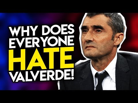 4 reasons why Valverde is hated by EVERYONE! Barcelona News | BugaLuis