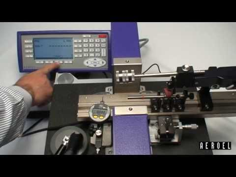 <strong>LASER VS. DIAL INDICATOR</strong><br />Checking the Run-Out of Solid Carbide Blanks
