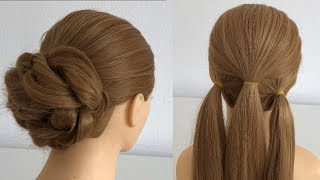 Easy Hairstyle Long Hair For Party Or Wedding  | Hairstyles For Girls | Hairstyles YouTube Channel