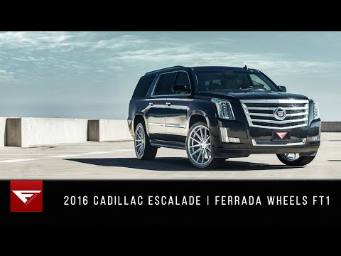 2017 Cadillac Escalade | Keep it Classy | Ferrada Wheels FT1