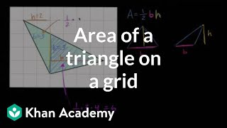 Area Of Triangle In Grid