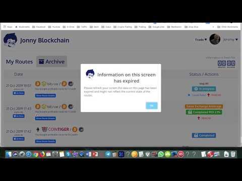 Triangular arbitrage crypto bot Üçgen arbitrajlı kripto botu