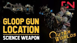 How to Get Gloop Gun Science Weapon - The Outer Worlds Science Weapons - Weapons from the Void