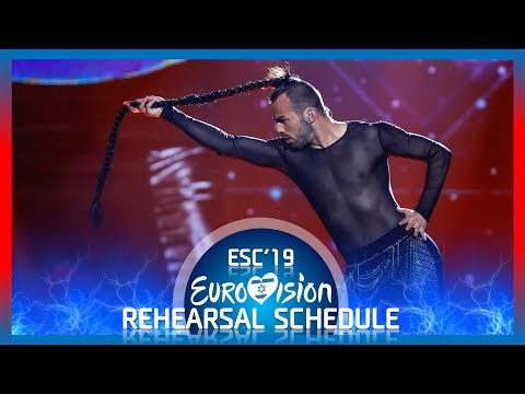 Eurovision 2019 : Full Rehearsals Schedule and Shows