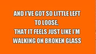 Annie Lennox - Walking On Broken Glass (with Lyrics)