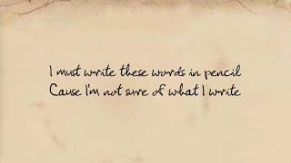 Words In Pencil (Lyric Video)