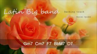 LATIN BIG BAND BACKING TRACK IN G FOR TRUMPET, PIANO, GUITAR ,FLUTE, SAXOPHONE, AND PERCUSSION