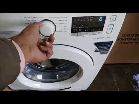 Samsung washing machine fully automatic front loader full review in Hindi