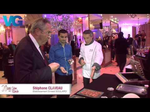 Voix Off pour Vins et Gastronomies à Paris pour les 30 ans du magazine en 2015