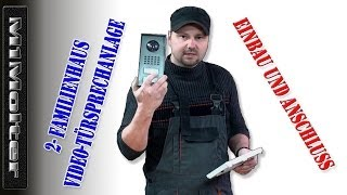 Video-Türsprechanlage CVS 88351 Einbauanleitung von M1Molter