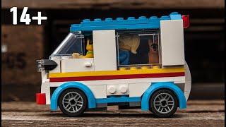 Instructions for Complex Minivan MOC 60253 alternative made from LEGO bricks