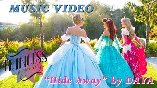 """Hide Away"" By Daya   Disney Princess Lip Sync Music Video"
