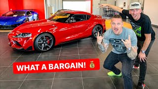 BOUGHT THE CHEAPEST 2020 SUPRA IN THE COUNTRY! *UNDER MSRP*