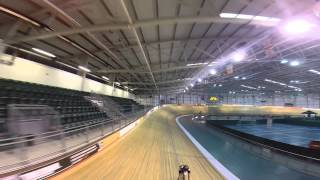 preview picture of video 'Mekk Bicycles 2015 Track Bike Newport Velodrome Drone Edit'