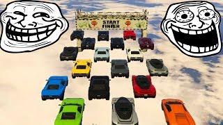 SUPER CARRERA TROLL GTA V ONLINE