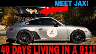 40 Day Road Trip In 2 MINUTES in a Porsche 911 Carrera!