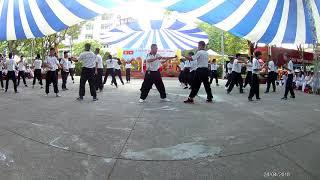 HS Trường THPT Hùng Vương biểu diễn hoạt cảnh võ thuật ngày Giỗ tổ HV năm học 2017-2018 (Phần 2)