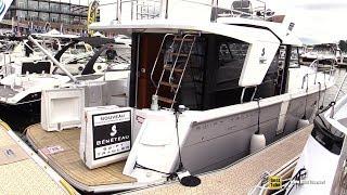2017 Beneteau Swift Trawler 30 - Walkaround - 2017 Montreal In Water Boat Show