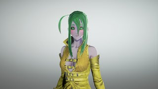 Suu  - (Monster Musume: Everyday Life with Monster Girls) - Suu (Monster Musume) In Code Vein (No Sound)