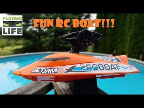 2018 Best Beginner RC Boat ? Pro Boat Jet Jam Review Horizon Hobby