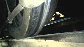 Выщербины на поверхности катания колёсных пар