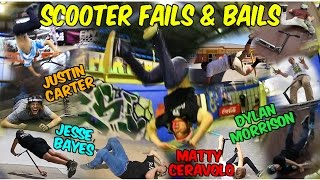 FAIL COMPILATION | SCOOTER FAILS AND BAILS