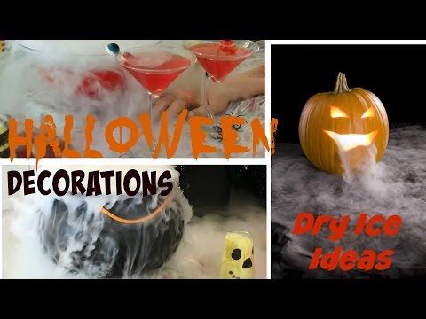 DIY Halloween Party Decoration Ideas – Dry Ice Tutorial
