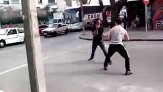 Entrenador de Boxeo pelea