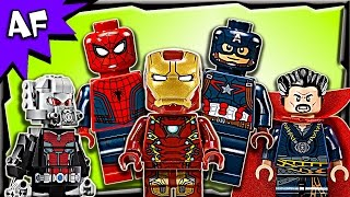 Lego MARVEL Minifigures 2016 Complete Collection Review