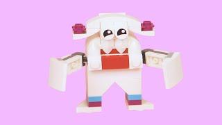 LEGO How To Make a YETI MONSTER ! Alternative LEGO Build - LEGO Academy DIY Tutorial for Kids