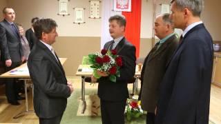 Ślubowanie wójta w Chorkówce
