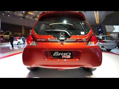 Review Honda New Brio RS IIMS 2016