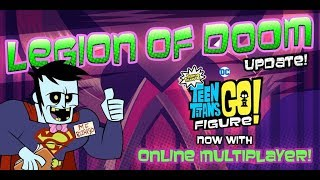 Legion of Doom Multiplayer Gameplay - Teen Titans GO! Figure