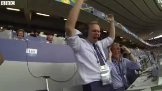 Исландский комментатор сорвал голос после второго гола в ворота Австрии