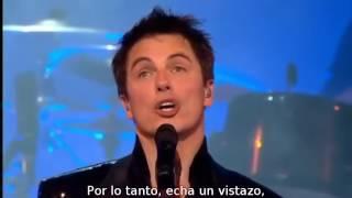 I am what I am   John Barrowman   Subtítulos Español   Royal Albert Hall 2010