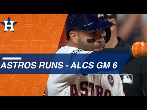 Astros bats come alive for seven runs in ALCS Game 6