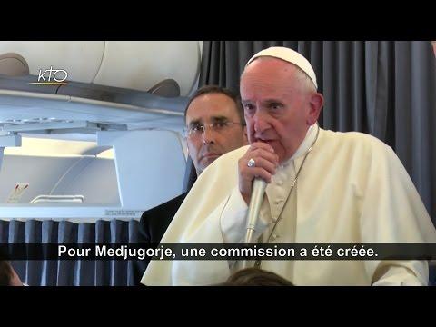 Medjugorge : les distinctions du pape François