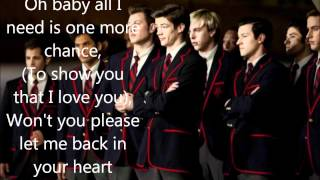 Glee(The Warblers) - I Want You Back (LYRICS) (Full Official Version) (High Quality Mp3 & HQ)