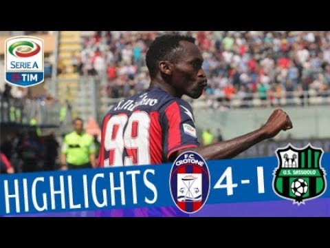 Crotone – Sassuolo 4-1 – Highlights – Matchday 35 – Serie A TIM 2017/18