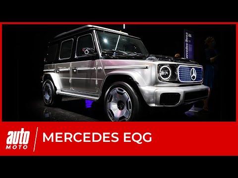Mercedes EQG : premières impressions sur le franchisseur électrique