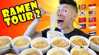 COMPARING INSTANT RAMEN Around The WORLD Part 2 - Life After College: Ep. 501