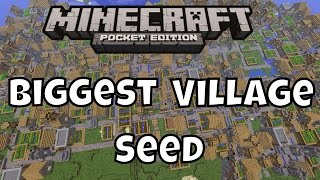 Biggest Village Seed - Minecraft PE