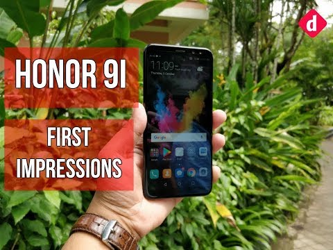 Honor 9i First Impressions | Digit.in