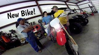 Going To Get Julius's New Dirt Bike!