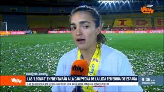 Legionarios La tica Melissa Herrera tras quedar campeona en Colombia