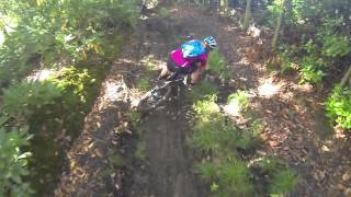 preview picture of video 'Liphook MTB mud crash'